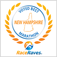Voted best New Hampshire marathon of 2018 by RaceRaves.com